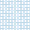 Wave pattern simple pale blue seamless Royalty Free Stock Photos