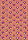Wave pattern wallpaper illustration style Royalty Free Stock Images