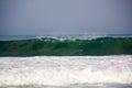 Wave at Zicatela Mexican Pipeline Puerto Escondido Mexico Royalty Free Stock Photo