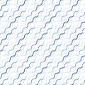 Waved line pattern Stock Photography