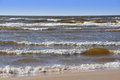 Waves, Baltic Sea, Jurmala, Latvia Royalty Free Stock Photo
