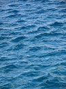 Waves on a blue sea Royalty Free Stock Photo