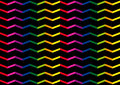 Waves bright background easy vector rainbow of colored Royalty Free Stock Images