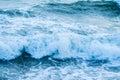 Waves Crashing Ashore Royalty Free Stock Photo