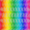 Waves lines rainbow colorful background Royalty Free Stock Photo