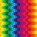Waves rainbow background seamless with motif of Stock Photo