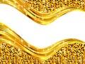 Wavy abstract frame Royalty Free Stock Photo