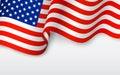 Vlnitý americký vlajka