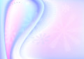 Wavy bluish pink background with transparent flowe Royalty Free Stock Images