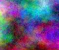 Wavy colors abstract Stock Photography