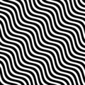 stock image of  WAVY LINE ABSTRACT MONOCHROME PATTERN