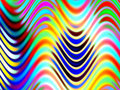 Wavy Lines Royalty Free Stock Image
