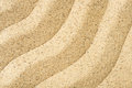 Wavy sand texture Royalty Free Stock Photo