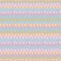 Wavy strips seamless pattern Stock Photography