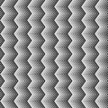 Wavy zigzag vertical lines seamless pattern. Seamlessly repeatable background.