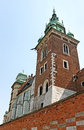 Wawel castle. Stock Photo
