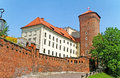 Wawel castle. Stock Image