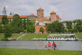 Wawel castle krakow poland the gothic in kraków in was built at the behest of casimir iii the great who reigned from to and Stock Image