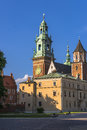 Wawel cathedral is an excerpt from buildings of the royal castle in krakow Stock Photos