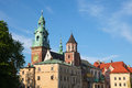 Wawel cathedral roman catholic church located wawel hill krakow poland Stock Photo