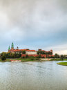 Wawel Royal castle in Krakow, Poland Royalty Free Stock Photo