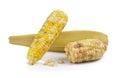 Waxy corn on white background a Stock Photo