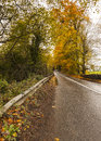 Way to better days empty road somewhere in ireland Royalty Free Stock Photos