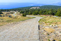 Way to brocken the mountain harz germany Stock Photos