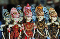 Wayang golek is sundanese traditional art puppet from indonesia Royalty Free Stock Images