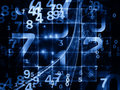 Ways of Numbers Royalty Free Stock Images