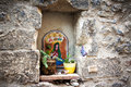 Wayside shrine in Italy Royalty Free Stock Photos