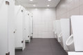 Wc for men clean public toilet room Royalty Free Stock Photography