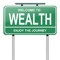 Wealth concept. Royalty Free Stock Photo
