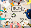 Wealth money possession investment growth concept Royalty Free Stock Photo