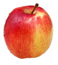 Wealthy apple red isoalted on white background Stock Photography