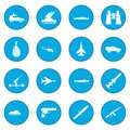 16 weapon icon blue