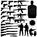 Weapon Set Royalty Free Stock Image