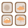 Weather design over white background vector illustration Stock Images