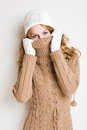 Weather getting chilly. Royalty Free Stock Images