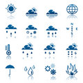 Weather icon set Stock Photography