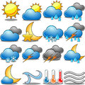 Weather icon set illustration featuring isolated on white background eps file is available check my portfolio for other Royalty Free Stock Images