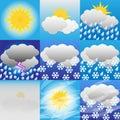 Weather-Meteorology Royalty Free Stock Photo