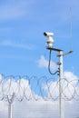 Weather proof surveillance camera