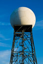 Weather radar station Stock Images