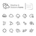 Weather & Seasons Related Icons