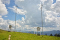 Weather station details Royalty Free Stock Photo