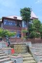 Weathercock house in ijinkan kitano kobe japan famous landmark Royalty Free Stock Image