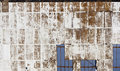 Weathered Board Movie Screen Stock Images