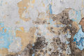Weathered colorful concrete wall