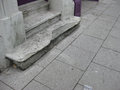 Weathered concrete steps Royalty Free Stock Photo